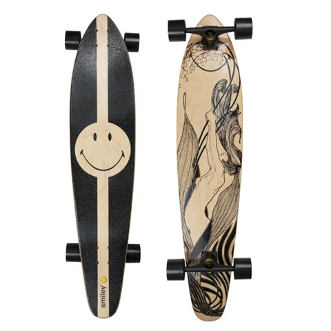 Smiley Longboard
