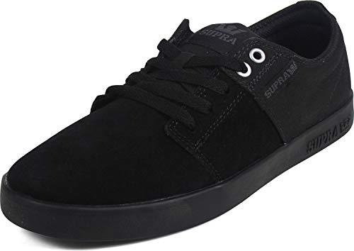 Supra Unisex-Erwachsene Stacks II Sneaker, Schwarz (Black 008), 40.5 EU