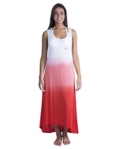 LongBoard Kleid Damen Rainbow rot Gr. Large, rot