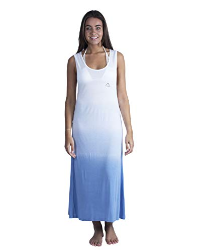 LongBoard Damen Kleid Rainbow Marine Gr. XXL, blau