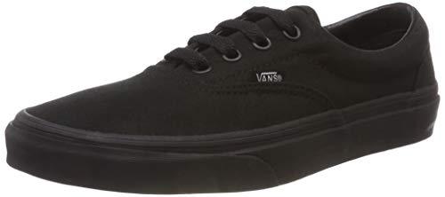 Vans Era Unisex-Erwachsene Sneakers, Schwarz (Black/Black BKA), 43 EU