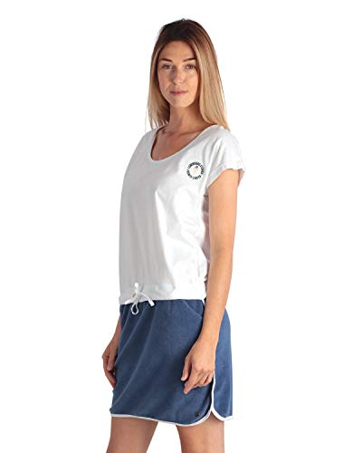 LongBoard Damen-Kleid French Surf, Weiß Gr. Large, weiß