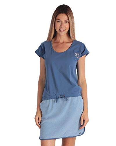 LongBoard Damen Kleid French Surf blau mittel Gr. Large, blau