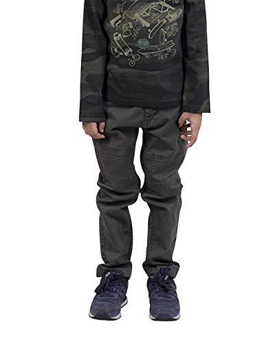 Longboard Jungen Hose Khaki mit Ziernähten Gr. 40 cm, grün