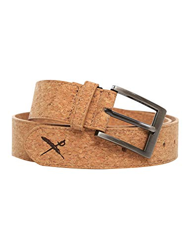 IRIEDAILY Cork Flag Belt [light brown]